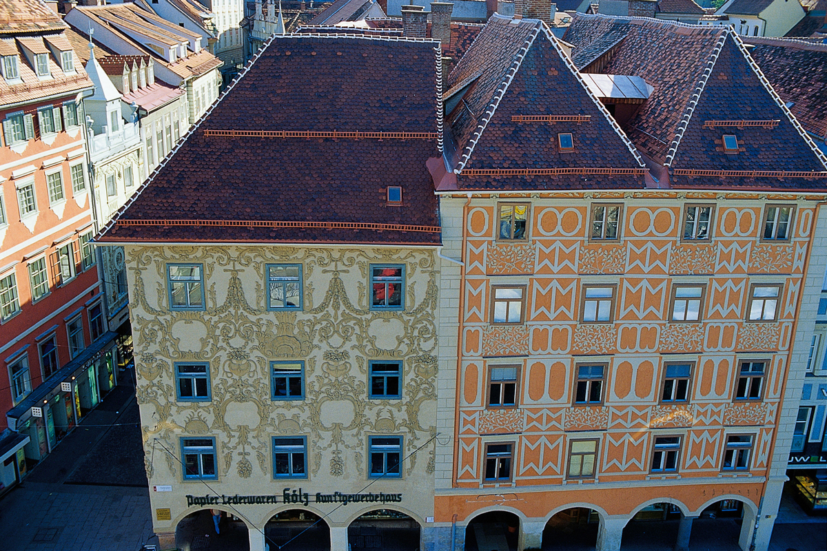 Hauptplatz Luegghaus (c) Graz Tourismus - Hans Wiesenhofer